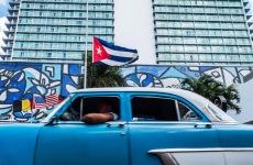 Banderas a media asta Cuba